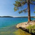 - Paulina Lake Loop Trail + Hot Springs