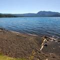 Bring a shovel for the lake's North Beach Hot Springs.- Paulina Lake Loop Trail + Hot Springs