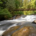 Lower Falls.- Lacamas Creek Park