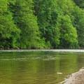 Fishing near the park's boat ramp.- Oxbow Regional Park