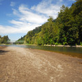Looking north over the Sandy River.- Glenn Otto Community Park