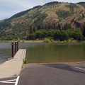 Mayer State Park boat ramp.- Mayer State Park