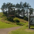 Ecola State Park's southern day-use area.- Ecola State Park