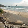 Ecola State Park's Indian Beach.- Ecola State Park