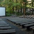 The park's amphitheater.- Beverly Beach State Park