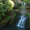 Lower South Falls.- Silver Falls State Park