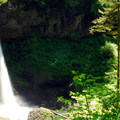 North Falls.- Silver Falls State Park Campground