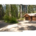 Restroom and shower facilities.- Silver Falls State Park Campground