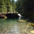 Small pool off of NF-2209.- Opal Creek Hiking Trail