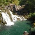 Sawmill Falls.- Opal Creek Hiking Trail