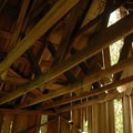 Abandoned building at Merten Mill.- Opal Creek Hiking Trail