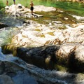 Slide Falls.- Opal Creek Hiking Trail