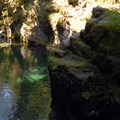 Opal Pool on the Opal Creek Trail near Jawbone Flats.- Opal Creek Wilderness