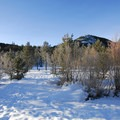 - Tumalo Falls Ski + Snowshoe Trail
