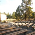 Tumalo State Park's amphitheater.- Tumalo State Park Campground