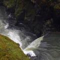 Celestial Falls.- White River Falls State Park
