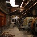 Abandoned powerstation.- White River Falls State Park