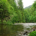 Salmon River.- Green Canyons Campground