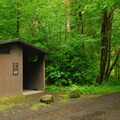 Restroom facilities.- Green Canyons Campground