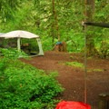 One of the recommended campsites.- Green Canyons Campground