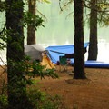Campsite at Meditation Point.- Timothy Lake, Meditation Point Campsites