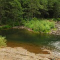 Swimming hole just off the trail.- Salmon River, West Canyon Trail