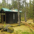Restroom facilities.- McNeil Campground