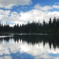 Mirror Lake.- Mirror Lake + Tom Dick and Harry Mountain