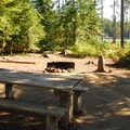 One of the best campsites.- Frog Lake Campground
