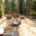 Double campsite.- Trillium Lake Campground