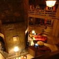 Timberline Lodge's central hearth.- Timberline Lodge