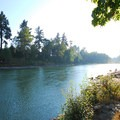 View from Cross Park west to the Clackamas River.- High Rocks, Cross Park