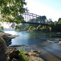 View of the Clackamas River looking west.- High Rocks, Cross Park