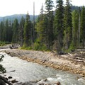 East Fork of the Hood River.- Nottingham Campground