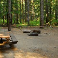 A recommended campsite.- Still Creek Campground