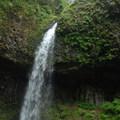 Upper Latourell Falls.- Latourell Falls Hike