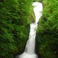 Bidal Veil Falls (120').- Bridal Veil Falls, Oregon