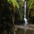 Oneonta Gorge: Lower Oneonta Falls.- Oneonta Gorge