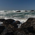 Looking out into the Pacific from Seal Rock State Recreation Site.- Seal Rock State Recreation Site