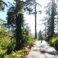 Walk along Hawk Street in Neskowin.- Neskowin Beach State Recreation Site