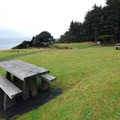 Picnic area at Rocky Creek State Scenic Viewpoint.- Rocky Creek State Scenic Viewpoint