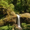 Side falls off of the North Fork Silver Creek.- Silver Falls, Trail of 10 Falls
