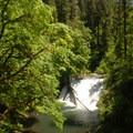 Drake Falls, Silver Falls State Park.- Silver Falls, Trail of 10 Falls