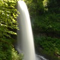 Middle North Falls, Silver Falls State Park.- Silver Falls, Trail of 10 Falls