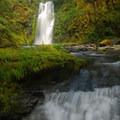 Chinook Falls.- Siouxon Creek Hike