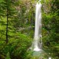 Wildcat Falls.- Siouxon Creek Hike