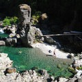 Three Pools, Opal Creek Wilderness.- Three Pools
