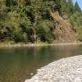 Clackamas River swimming hole just before mile marker 33.- Clackamas River, Mile 33