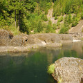 The Narrows, Clackamas River.- The Narrows Swimming Hole