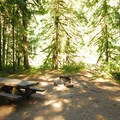 One of Lockaby Campground's better sites.- Lockaby Campground